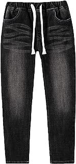 Big Boys Kids Husky Rib Waist Stretch Denim Jeans Pants LLB621