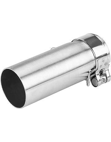 Tubo di collegamento del silenziatore di scarico Di scarico for moto link Medio silenziatore del tubo Slip On fuga avanzata pressione daria for Yamaha YZFR6 1998-2005