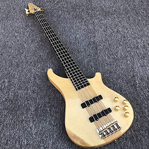 MLKJSYBA Guitarra 5 Cuerdas Eléctricas Guitarra Acero Acústico Guitarra Guitarra Clásica Guitarras acústicas (Color : Guitar, Size : 43 Inches)