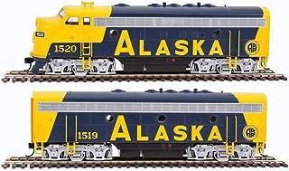 WALTHERS Spur H0 – dieselokset EMD F7AB Alaska järnväg med ljud