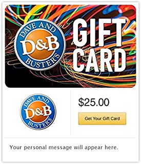 dave busters gift card