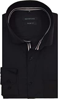 Keystone Men's Formal Shirt 1968096031_Black_38