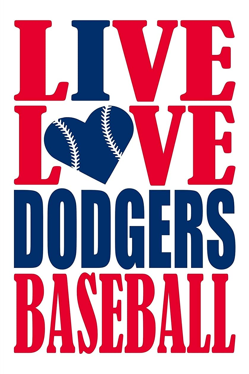 電極アンペアクライマックスLive Love Dodgers Baseball Journal: A lined notebook for the Los Angeles Dodgers fan, 6x9 inches, 200 pages. Live Love Baseball in red and I Heart Dodgers in blue.