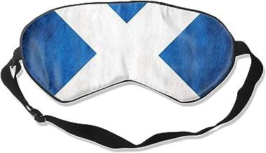 Sleep Mask The Scottish Flag Eye Mask Patch With Adjustable Strap Eye Shades For Travel, Nap, Meditation, Blindfold