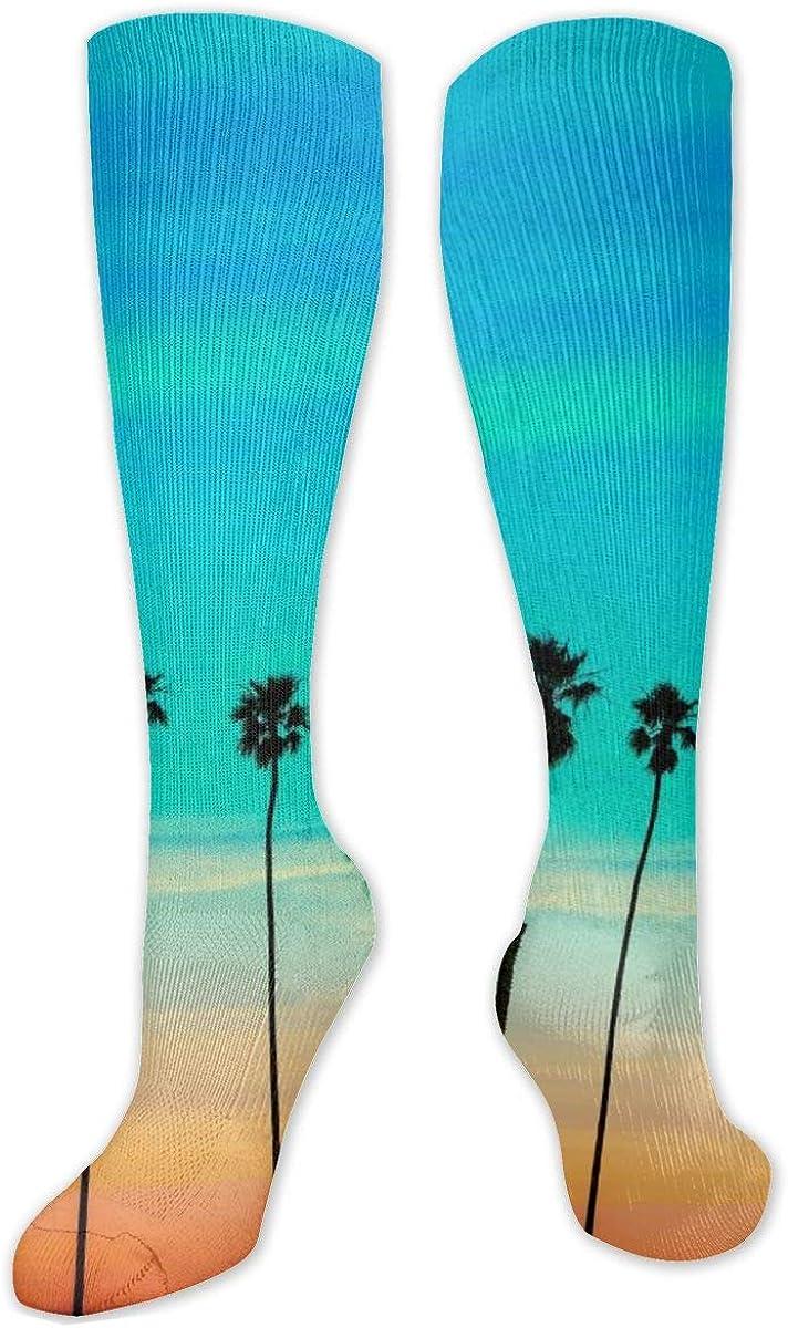 California Knee High Socks Leg Warmer Dresses Long Boot Stockings For Womens Cosplay Daily Wear