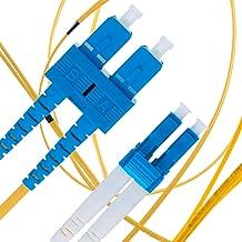 LC to SC Fiber Patch Cable Single Mode Duplex - 3m (9.84ft) - 9/125um OS1 LSZH - Beyondtech PureOptics Cable Series