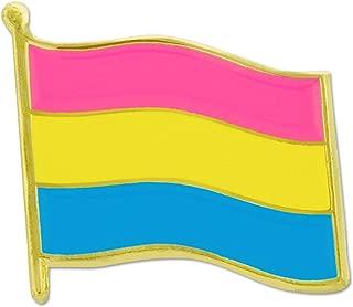 Pansexual Flag LGBTQ Pride Enamel Lapel Pin Jewelry