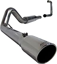 MBRP S6216409 T409 Stainless Steel Turbo Back Single Side Exit Exhaust System
