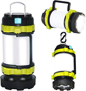 ForceMaxe Camping Lantern Rechargeable Flashlight,Power...
