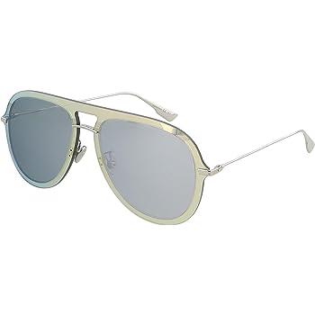 Dior Grey, Silver Aviator Ladies Sunglasses DIORULTIME1 83I 57