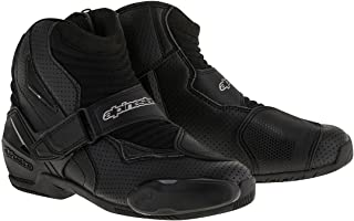 Alpinestars SMX-1 R Vented Boots (45) (Black)