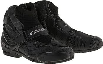 Alpinestars SMX-1R Vented Men's Street Motorcycle Shoes - Black / 41