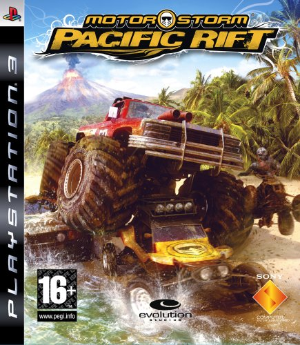 New Sony Sdvg Motorstorm Pacific Rift Video Game Racing Driving Ps3 Popular Exciting Interesting (輸入版)