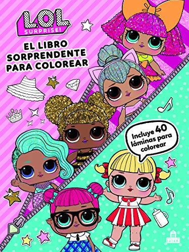 LOL Surprise. El libro sorprendente para colorear (LIBROS MAGAZZINI SALANI)