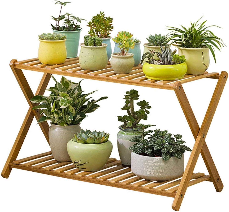 Creative Balcony Flower Stand Living Room Solid Wood Floor Multi-Layer Flower Shelf Indoor Flower Pot Rack