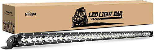 wholesale Nilight NI04-200W 1PC LED 41inch 200W Spot Flood popular Combo Single Row 19000LM Off Road 3D Fog Driving Roof Bumper high quality Light Bars for Jeep Ford Trucks Boat, 2 Years Warranty outlet sale