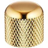SCUD メタルノブ、ミリサイズ ゴールド MKG-19