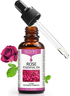 Rose Essential Oil, Face Rose Oil, Moisturizer Body oil, Natural Anti Ageing & Anti Wrinkle Serum, Rose oil for Face, Perf...