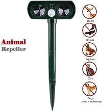 Juanshi repelente de animales silbatos de ciervos para autom/óviles plagas 8 piezas Ultrasonic Cats Solar Animal Repeller Waterproof para matar gatos zorros y otros perros p/ájaros ratas