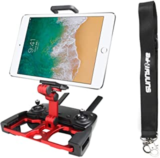 Anbee Foldable Aluminum Tablet Stand Smart Phone Holder Bracket with Lanyard Compatible with DJI Mavic 2 / Mavic Pro Plati...