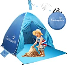SUNBA YOUTH Beach Tent, Beach Shade, Anti UV Instant Portable Tent Sun Shelter, Pop Up..