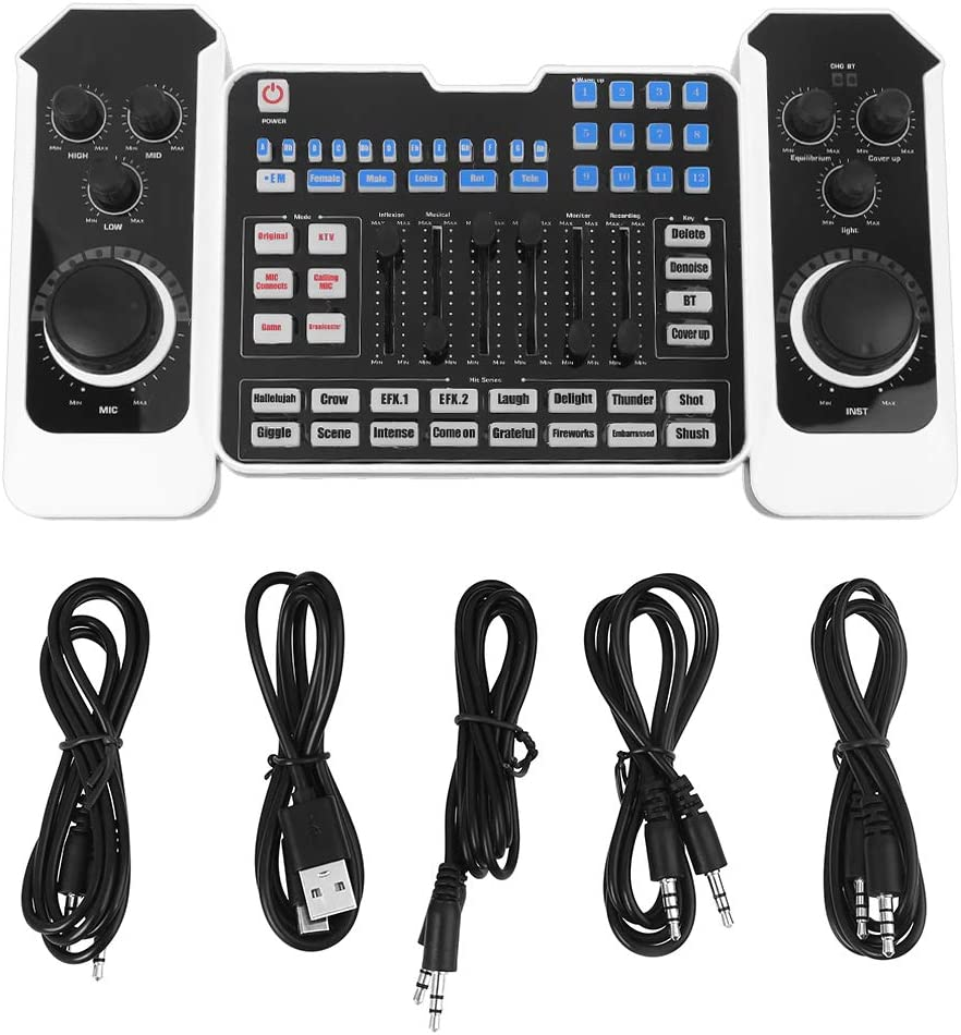 Q8 Bluetooth Ranking TOP6 Audio Mixer Headset Microphone Be super welcome Streami Webcast Live