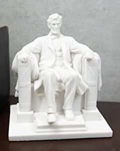 Ebros Seated Abraham Lincoln Figurine 8