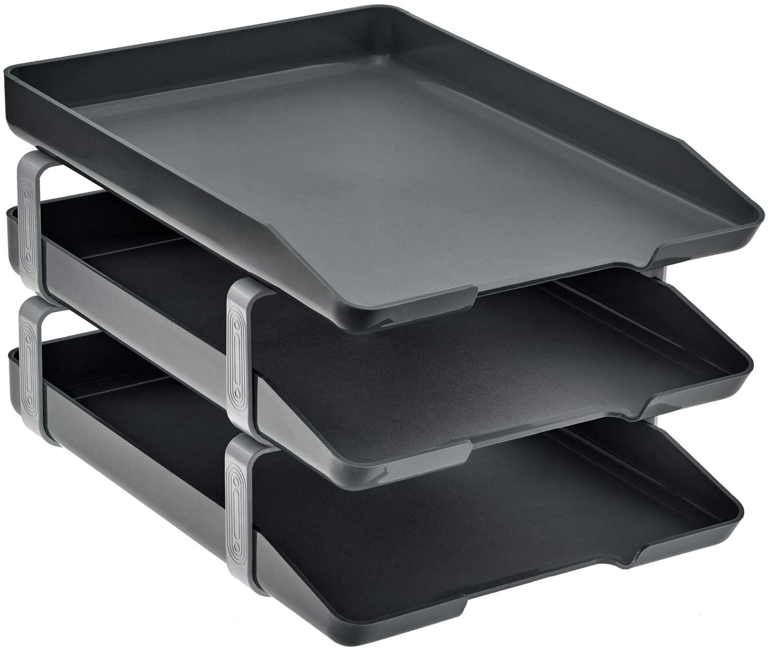 Acrimet Traditional Letter Tray 3 Front Deskto Tier Sale price 2021 spring and summer new Load Plastic