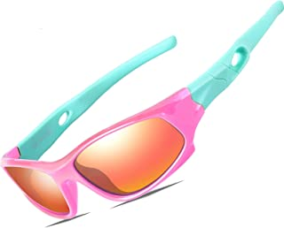 ATTCL Kids Hot TR90 Polarized Sports Sunglasses For Boys...