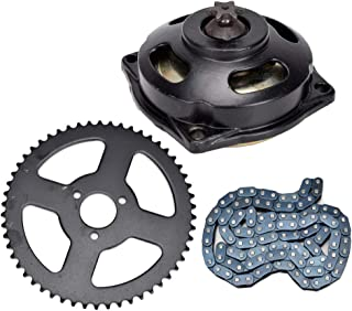 HIAORS Drive System T8F Chain with 6T Gear Box Rear Sprocket 108 Links for Mini Pocket Bike 47cc 49c Parts