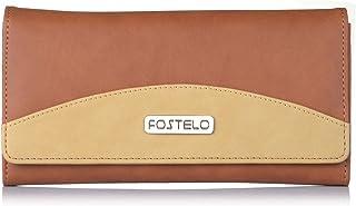 Fostelo Women's Sunrise Two Fold Wallet (Tan)