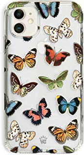 Velvet Caviar for iPhone 11 Case Butterfly Clear for Girls, Women - Cute Protective Phone Cases [Drop Test Certified] (Colorful Butterflies)
