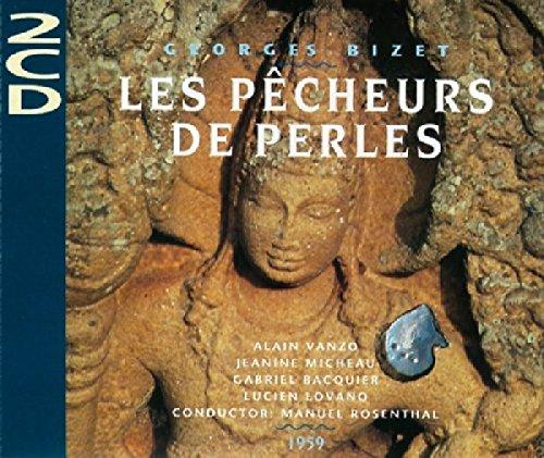 Bizet: Die Perlenfischer (Gesamtaufnahme) (Aufnahme Paris 1959)