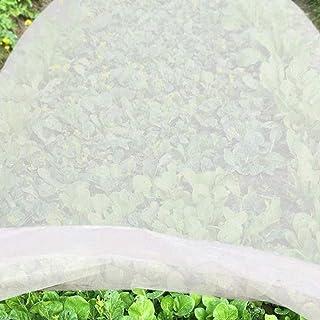 Voarge Siatka ogrodowa na warzywa, przeciw owadom, na rośliny, termiczna włóknina ogrodowa, ochrona przed zimnem, osłona p...