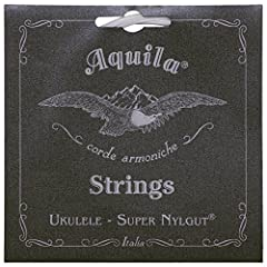 Aquila's latest advance in synthetic gut ukulele strings Natural pearl color, super-smooth playing surface Less stretchy than previous strings, greater tuning stability Perfect intonation, long-wearing qualities To learn more, please see our Product ...