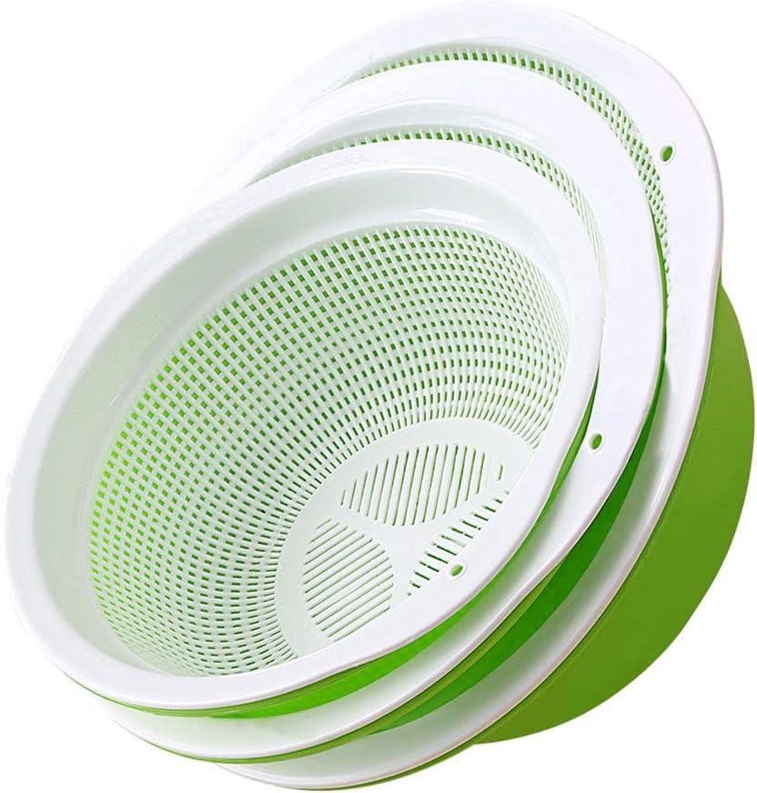 Colanders Kitchen Colander Strainer Sale Special Price Set,Double Bowl Co quality assurance Plastic