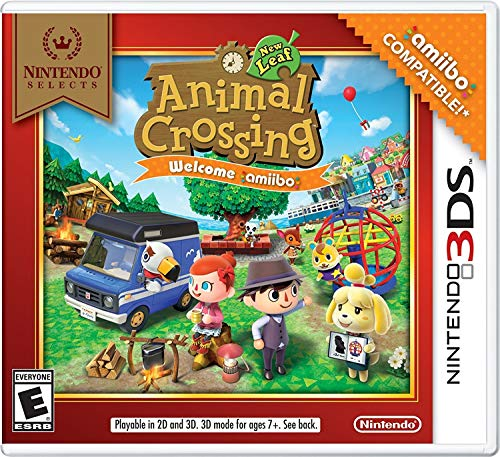Nintendo Selects: Animal Crossing: New Leaf Welcome amiibo (No Card) for Nintendo 3DS [USA]