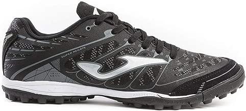 Joma Soccer Shoes Super REGATE Turf 906 Black Calcetto Scarpa