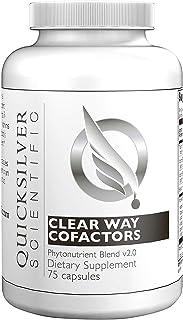 Quicksilver Scientific. Clear Way Cofactors. 75 Cápsulas veganas. sin soja. sin gluten