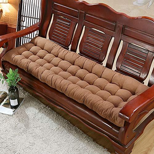 Cojín cómodo para silla, de algodón, ultra duradero, de madera para sofá, para interior y exterior, patio, muebles y sillas de comedor