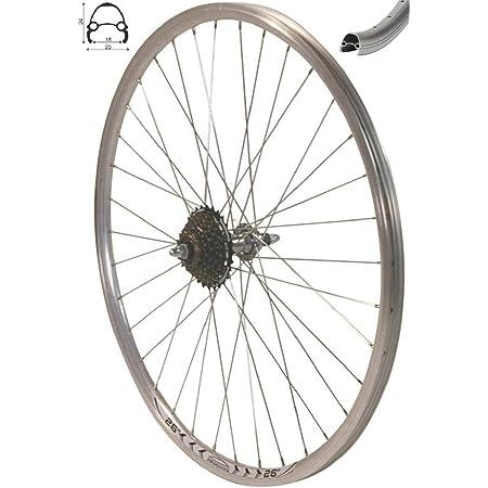 "28/"" Rear Wheel 1 Speed Withdrawal Silver NEW"