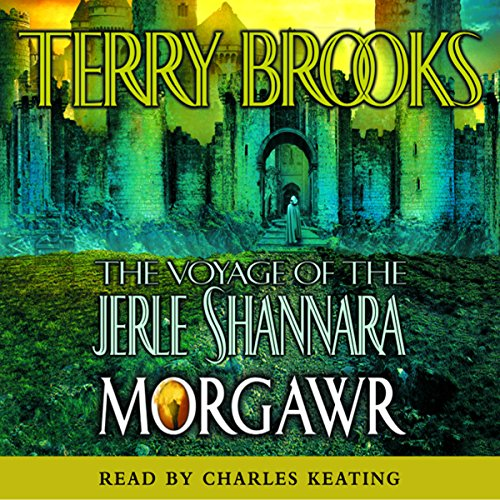 The Voyage of the Jerle Shannara: Morgawr audiobook cover art
