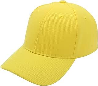 Baseball Cap Men Women - Classic Adjustable Plain Hat