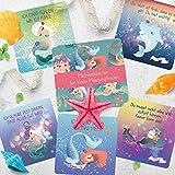 Kathleen Bergmann Mutmachkarten für kleine Meerjungfrauen, 20 teiliges Kartenset für die Entwicklung der Persönlichkeit von Kindern -