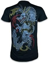 Rōnin T Shirt Gin Ryū - Silver Dragon Samurai Tattoo Art Shinto Japan Irezumi Sz. M - XL