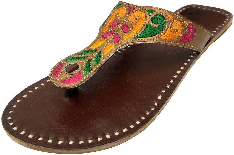 Step n Style Womans Ethnic Indian shoes Pakistani Kolhapuri Salwar Kameez Chappel