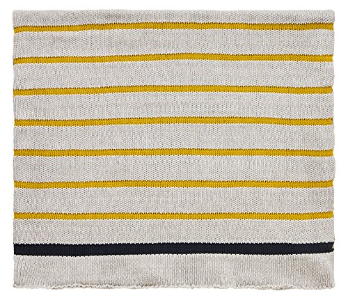 Scion LINTU Knitted Throw, Cotton, Ink, Small Double