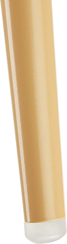 TecTake 2X Chaise de Salle à Manger Confort, Fauteuil de Salon Rembourré au Design Scandinave 55 cm x 54 cm x 82,5 cm - diverses Couleurs - (Gris   no. 403531) Noir   No. 403533
