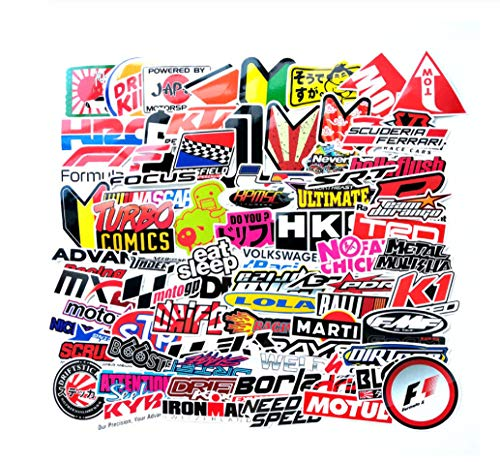 Votgl 100 stks Grappig Woord Auto Stickers Op Motorfiets Koffer Decor Telefoon Laptop Covers DIY Vinyl Sticker Bomb JDM Auto Styling F2