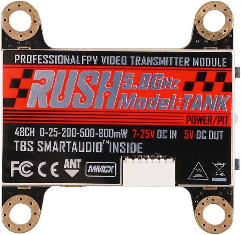 Crazepony FPV Transmitter Rush Tank 5.8GHz 200 800 25 500 48CH セール商品 日本未発売 0